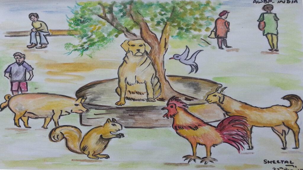 animals scene 2