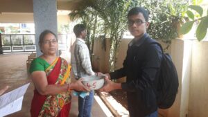 Distribution and Installation of Water Bowls in a Raghavendra Colony