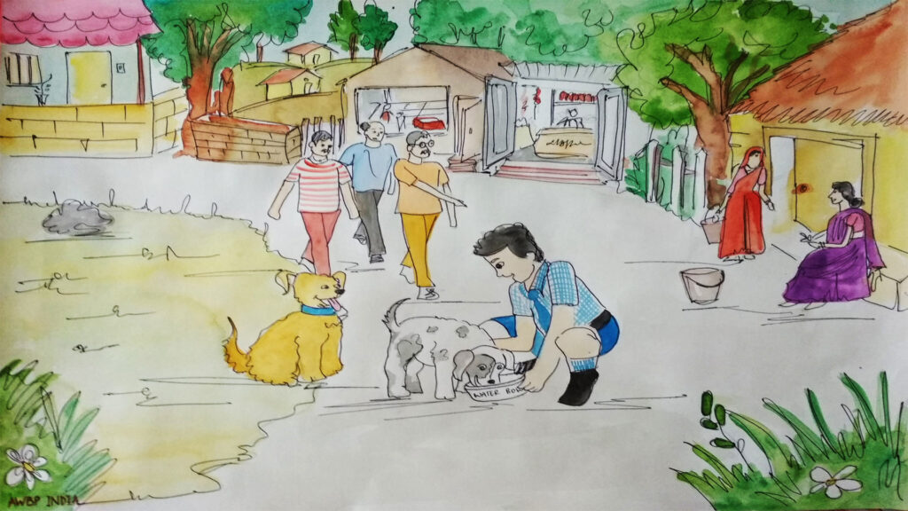 street animal caretaker scene7
