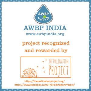 THE POLLINATION PROJECT recognized AWBP INDIA
