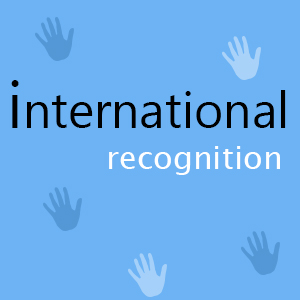 international recognition of awbp trust